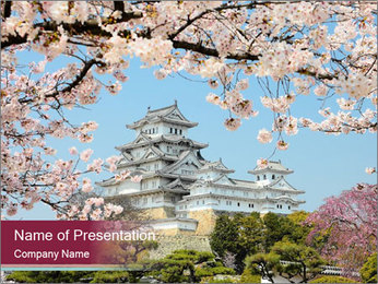 Japan PowerPoint Template - Slide 1