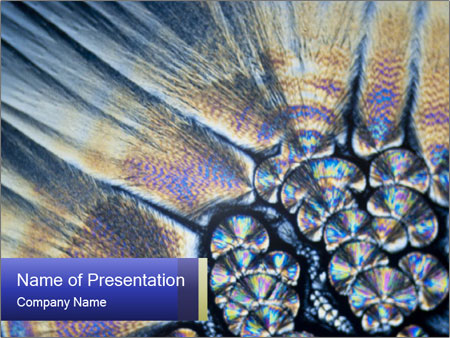 Microcrystals PowerPoint Templates