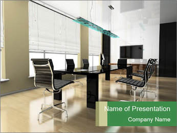 The modern interior PowerPoint Template - Slide 1