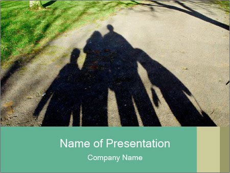 Shadow Family PowerPoint Templates