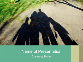 Shadow Family PowerPoint Templates - Slide 1