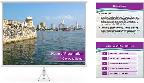 Colombia PowerPoint Template