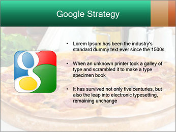 Pizza with salami PowerPoint Template - Slide 10