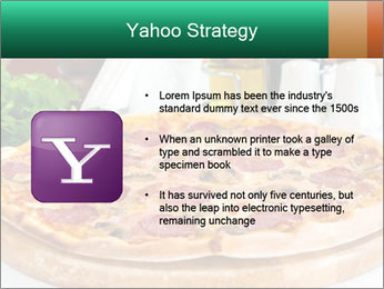 Pizza with salami PowerPoint Template - Slide 11