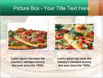 Pizza with salami PowerPoint Template - Slide 18