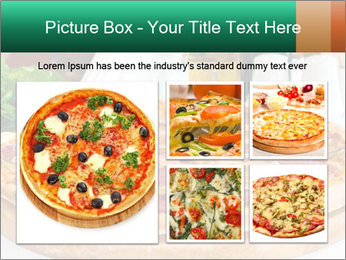 Pizza with salami PowerPoint Template - Slide 19