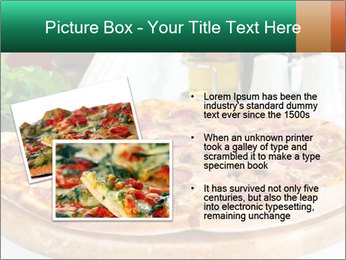Pizza with salami PowerPoint Template - Slide 20