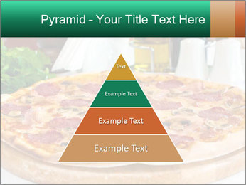 Pizza with salami PowerPoint Template - Slide 30