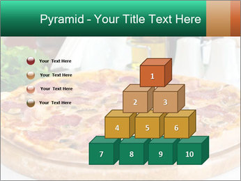 Pizza with salami PowerPoint Template - Slide 31
