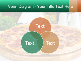 Pizza with salami PowerPoint Template - Slide 33