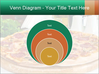 Pizza with salami PowerPoint Template - Slide 34