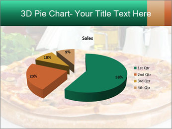 Pizza with salami PowerPoint Template - Slide 35
