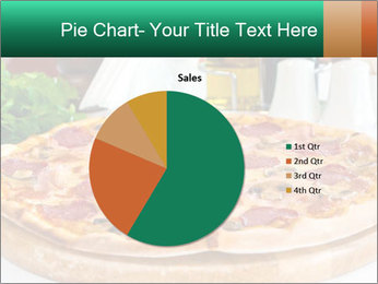 Pizza with salami PowerPoint Template - Slide 36