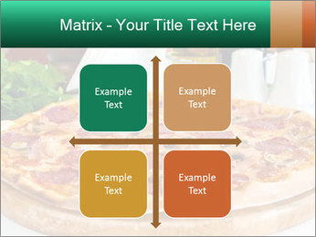 Pizza with salami PowerPoint Template - Slide 37