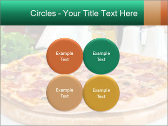 Pizza with salami PowerPoint Template - Slide 38