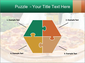 Pizza with salami PowerPoint Template - Slide 40