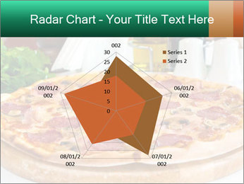Pizza with salami PowerPoint Template - Slide 51