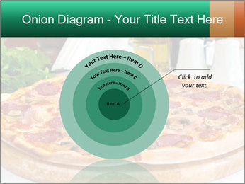 Pizza with salami PowerPoint Template - Slide 61