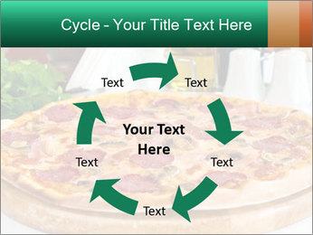 Pizza with salami PowerPoint Template - Slide 62