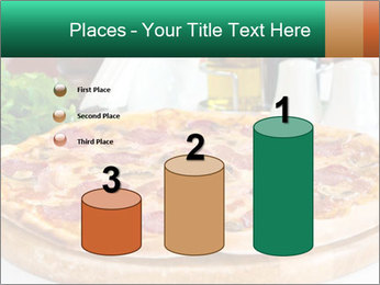 Pizza with salami PowerPoint Template - Slide 65