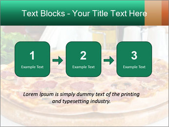 Pizza with salami PowerPoint Template - Slide 71