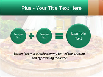Pizza with salami PowerPoint Template - Slide 75