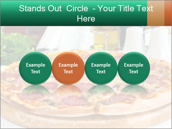 Pizza with salami PowerPoint Template - Slide 76