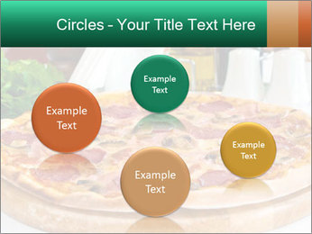 Pizza with salami PowerPoint Template - Slide 77