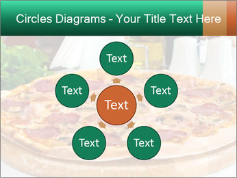 Pizza with salami PowerPoint Template - Slide 78