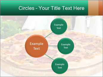 Pizza with salami PowerPoint Template - Slide 79