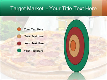 Pizza with salami PowerPoint Template - Slide 84