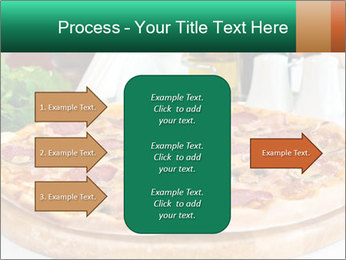 Pizza with salami PowerPoint Template - Slide 85