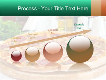 Pizza with salami PowerPoint Template - Slide 87