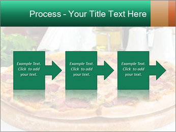Pizza with salami PowerPoint Template - Slide 88