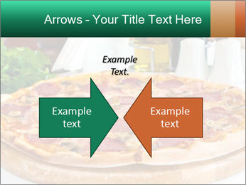 Pizza with salami PowerPoint Template - Slide 90