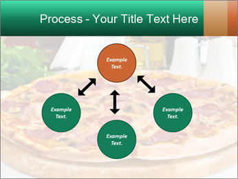 Pizza with salami PowerPoint Template - Slide 91