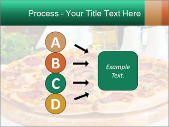 Pizza with salami PowerPoint Template - Slide 94