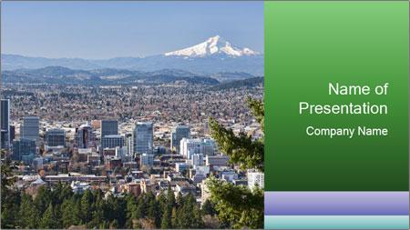 Oregon PowerPoint Template