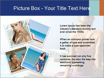 Woman relaxing PowerPoint Template - Slide 23