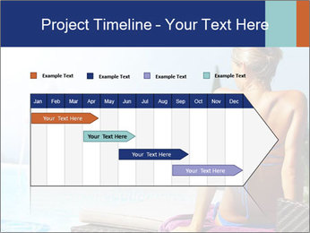 Woman relaxing PowerPoint Template - Slide 25