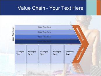 Woman relaxing PowerPoint Template - Slide 27