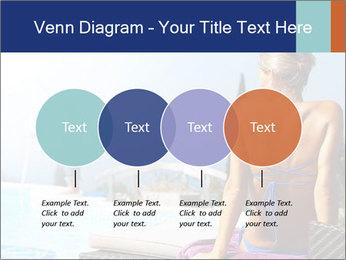 Woman relaxing PowerPoint Template - Slide 32