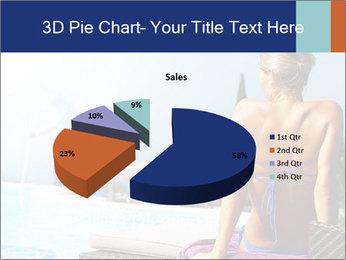 Woman relaxing PowerPoint Template - Slide 35