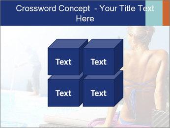 Woman relaxing PowerPoint Template - Slide 39