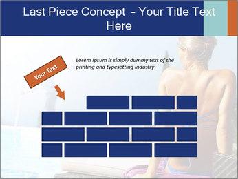 Woman relaxing PowerPoint Template - Slide 46