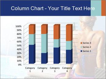 Woman relaxing PowerPoint Template - Slide 50