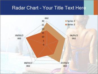 Woman relaxing PowerPoint Template - Slide 51