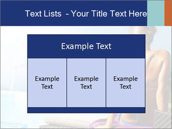 Woman relaxing PowerPoint Template - Slide 59