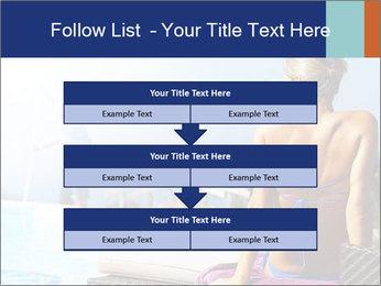 Woman relaxing PowerPoint Template - Slide 60