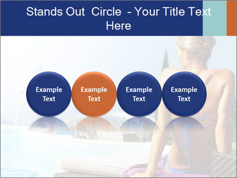 Woman relaxing PowerPoint Template - Slide 76